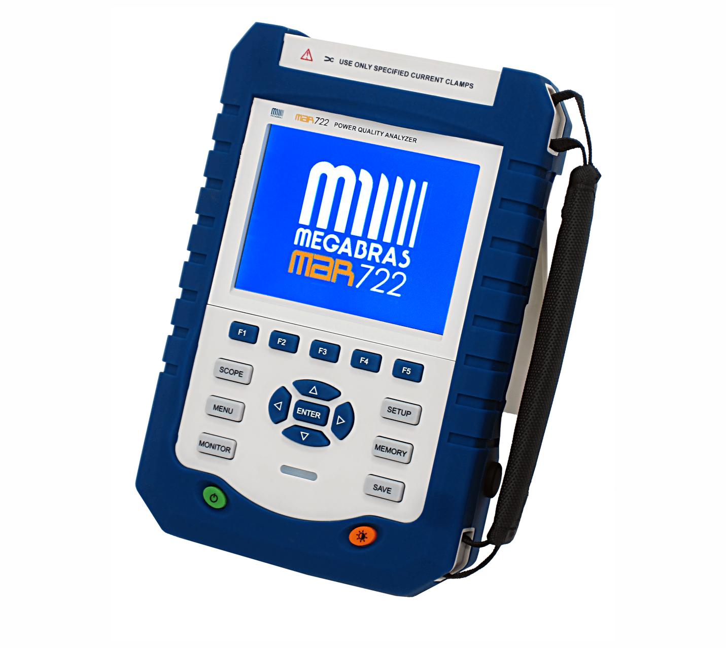 Analisador De Energia Trifásico CAT IV - Megabras - MAR-722