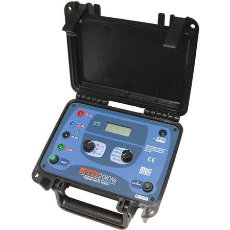 Terrômetro  20 KΩ e Resistividade do Solo - Megabras - MTD-20KWe