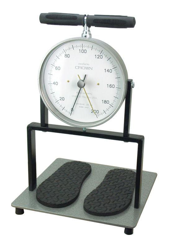Dinamômetro Crown - Dorsal (200 kgf) - Fabricação: 10 dias uteis