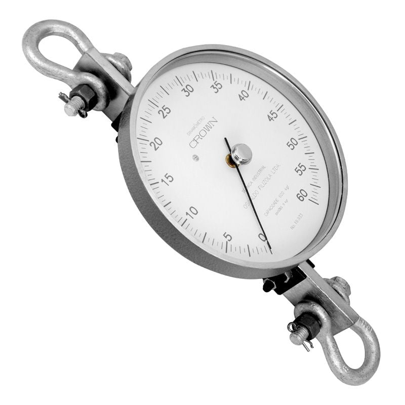 Dinamômetro Analógico Circular 2000 kgf - Crown - BR-2000