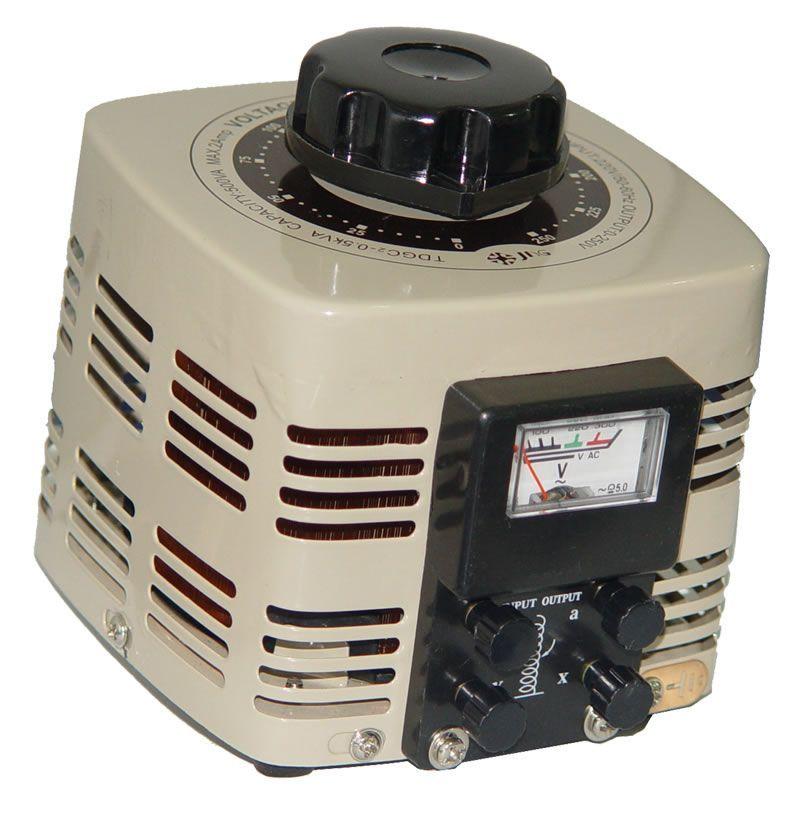 Variador de Voltagem Monofásico (Variac) 0,5 KVA, 2A - JNG - TDGC2-0,5