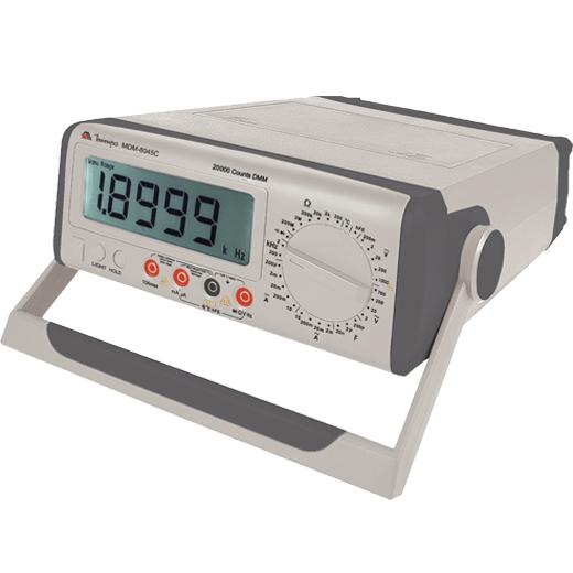 Multímetro de Bancada  4 1/2 (19999) True RMS  CAT II - Minipa - MDM-8045C