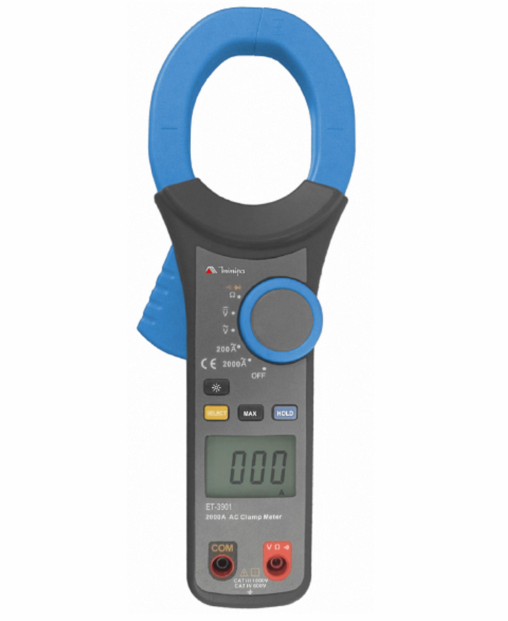 Alicate Amperímetro 2000ACA CAT IV - Minipa - ET-3901