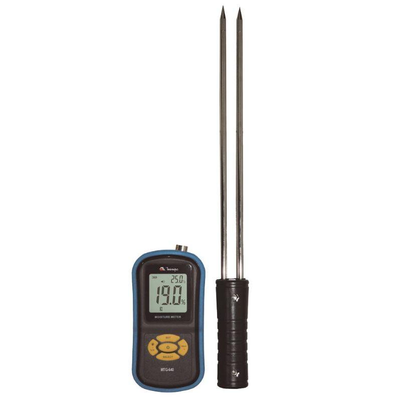 Medidor de Umidade/Temperatura  para Grãos - Minipa - MTG-640 (ENTREGA=25/02/2021)