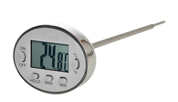 Termômetro Espeto Inox (-40ºC a +230ºC) - Prova DÁgua - AK-11