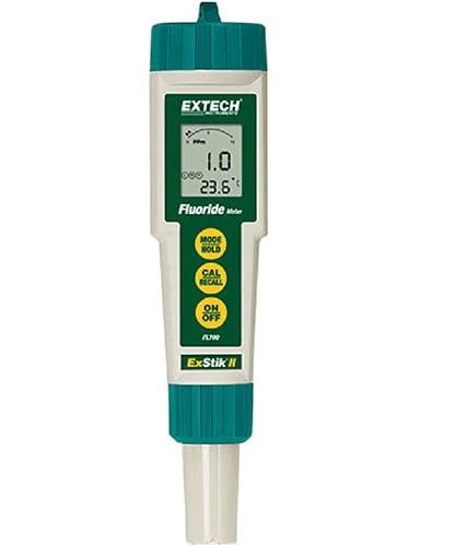 Medidor de fluoreto Leitura de 0,1 a 9,99 ppm mv ou mg/L - Extech - FL-700