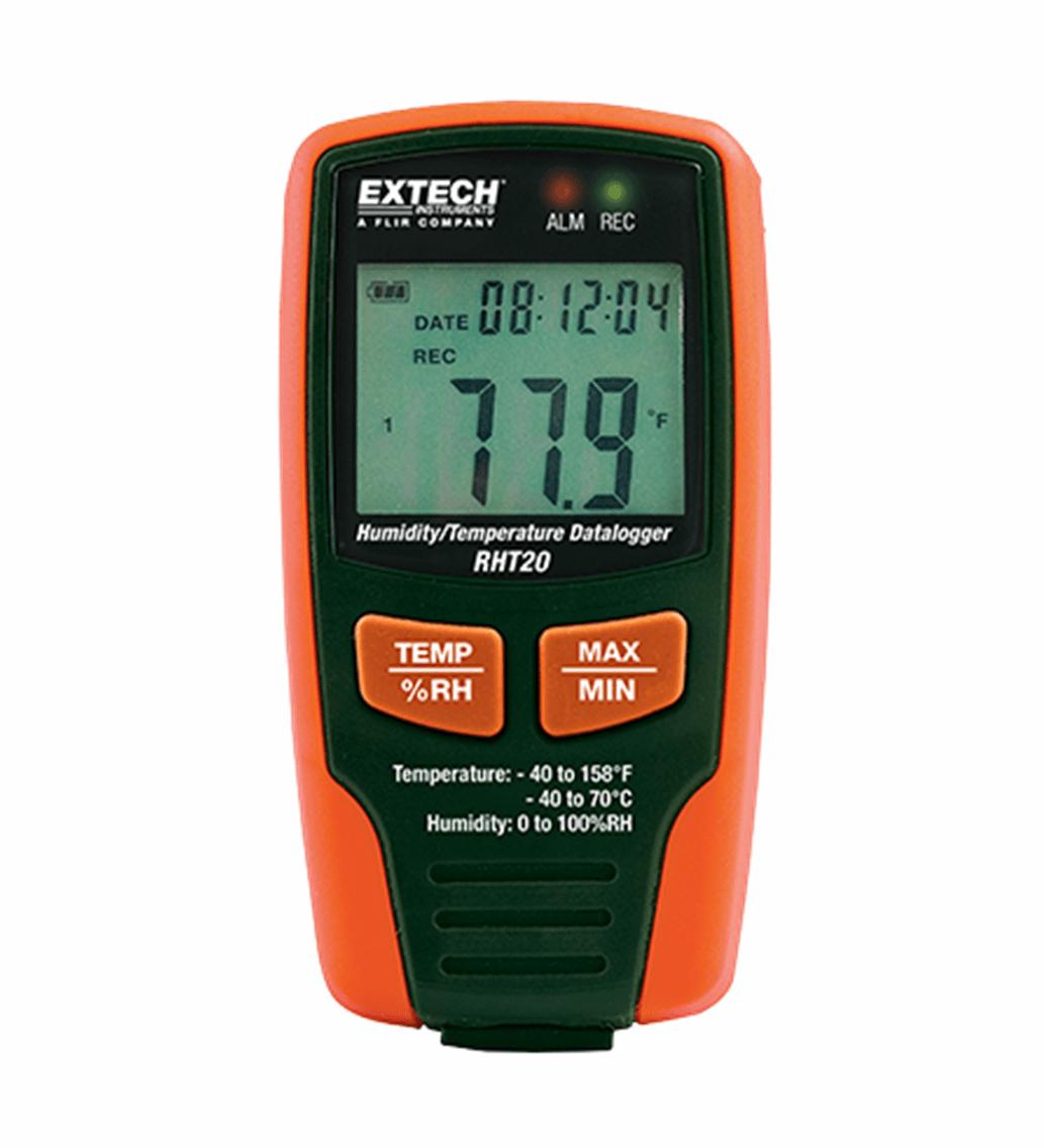 Datalogger (temp/umidade) Extech - RHT-20