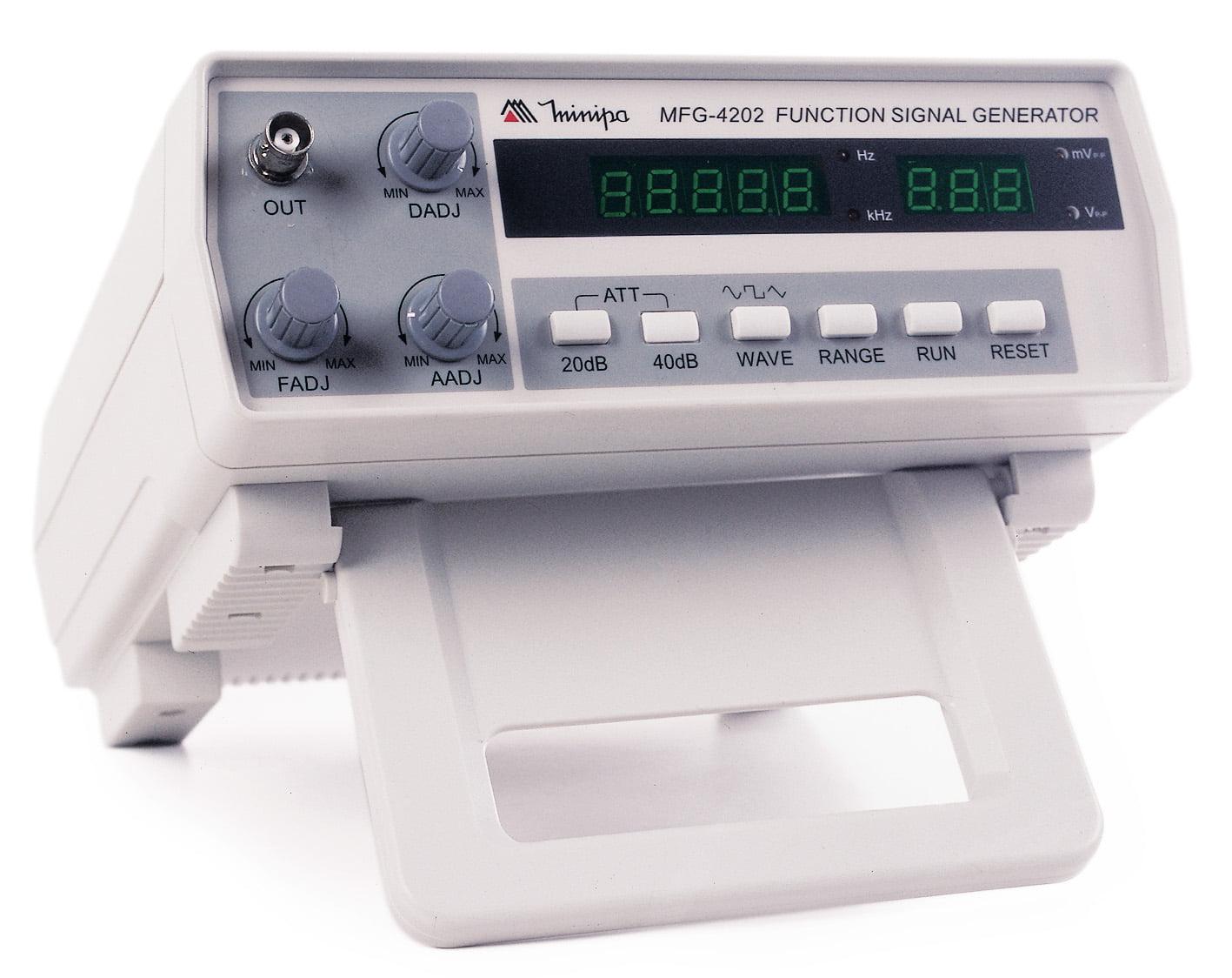 Gerador de Funções Digital 2 MHz, 5 díg - Minipa - MFG-4202