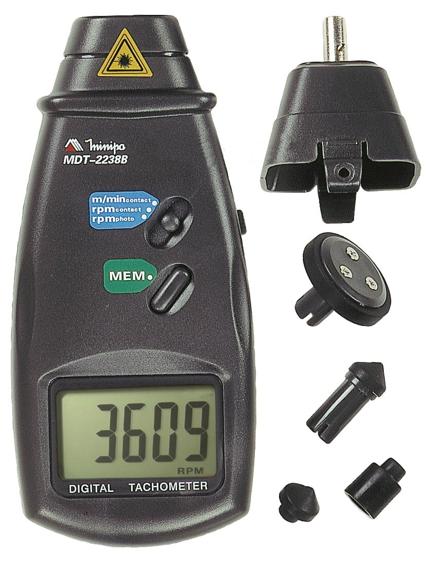 Tacômetro Óptico/Contato - Minipa - MDT-2238B  (PREVISÃO ENTREGA= 05/05/2021)