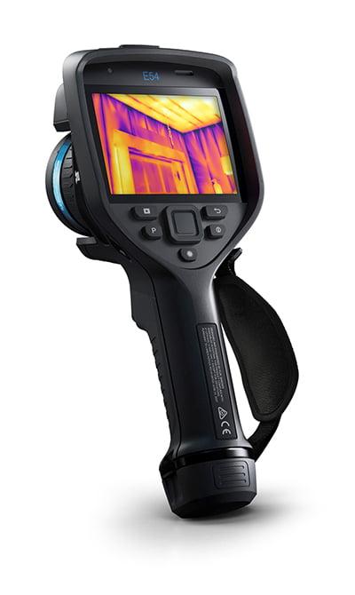 CÂMERA TERMOGRÁFICA  76.800 pixels C/MSX E WIFI (-20 A +650ºC) – FLIR  - E-54 24°