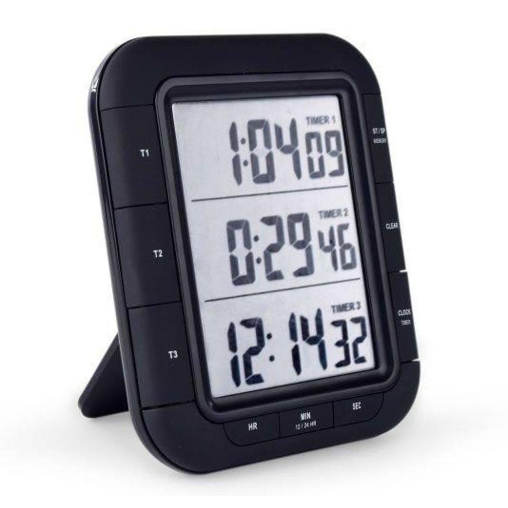 CRONOMETRO  TIMER 3 TEMPOS DIGITAL INCOTERM T-TIM-0020.00