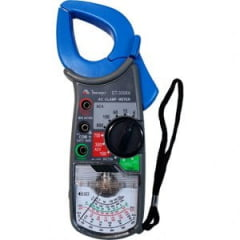 Alicate Amperímetro Analógico 600ACA  CAT II Minipa - ET-3006A
