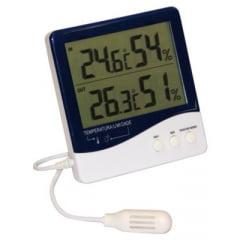 Termo-Higrômetro Máx/Mín(Temp. Int/Ext e UMIDADE INT E EXT) - Incoterm - 7664.01.0.00