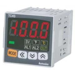 Controlador de Temp 48x48 Autonics J/K Pt100 Saída Relé/SSR - TC4S-14R