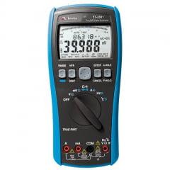 Multímetro True RMS - CAT IV DATA LOGGER - USB - Minipa - ET-2801