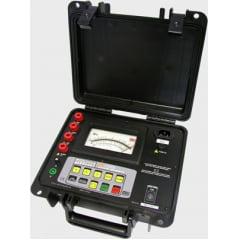 Megômetro Analógico (10TΩ/5kV)   Megabras   MI-5500e
