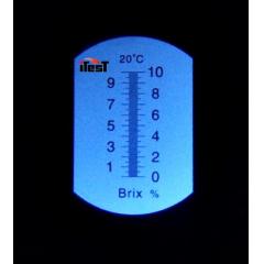 Refratômetro Baixo Açúcar (0a10%Brix) - RT-10ATC