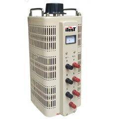 Variador de Voltagem Trifásico (Variac) 1,5 KVA, 2A - JNG - TSGC2-1,5