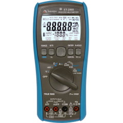 Multímetro True RMS - CAT IV - USB - c/ Saída Tensão e Corrente e Loop -Minipa  ET-2990