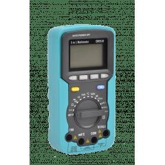 Multímetro 5x1  Temp Humid Decib Lux  EM-5510