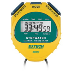 Cronômetro Profiss. Resistente a Água Extech - 365510