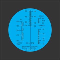 Refratômetro para Arla, Etilenoglicol, Propilenoglicol, Fluido limpeza,Fluido bateria - Arla-32