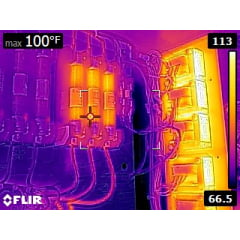 Câmera Térmica 19.200 pixels c/ MSX e WIFI (–20°C +400°C ) - Flir - E-5-XT