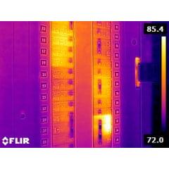 Câmera Térmica 76.800 pixels c/ MSX e WIFI (–20°C +550°C ) - Flir - E-8-XT