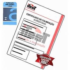 Certificado Calibração Med. Espess Camada Base Ferrosa e Não Ferrosa - ACREDITADO RBC