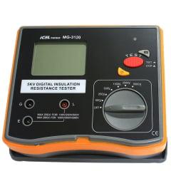Megômetro (200 GΩ/5KV) CAT III - MG-3120
