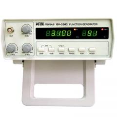 Gerador de Funções Digital 2 MHz, 5 díg - GV-2002