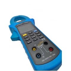 Alicate Wat Trif CAT IV  TRMS Fasímetro Harmônicos KWh Data Logger USB - ET-4055A