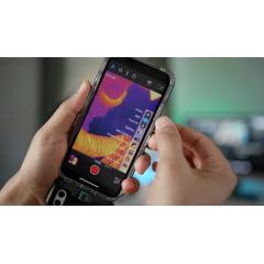 CÂMERA TÉRMICA P/ CELULAR IPHONE- 4.800 PIXELS (-20 °C A 120 °C) - FLIR ONE PRO LT IOS