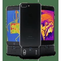 CÂMERA TÉRMICA P/ CELULAR IPHONE - 19.200 PIXELS (-20 °C A 400 °C) - FLIR ONE PRO IOS