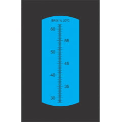 Refratômetro Analógico (28 a 62% Brix) – RHB-62